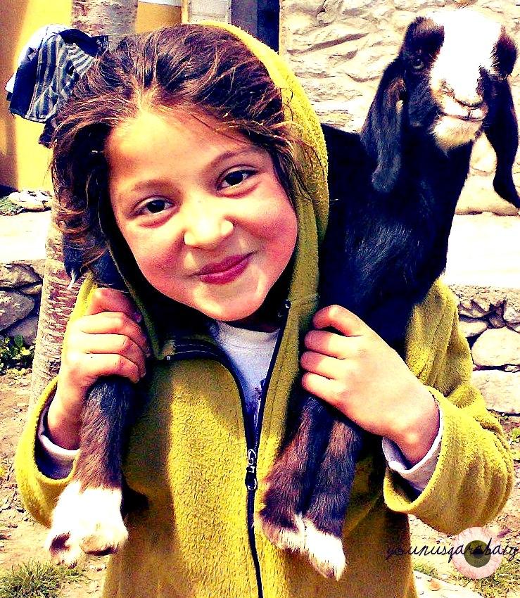 Dziewczynka Hunza